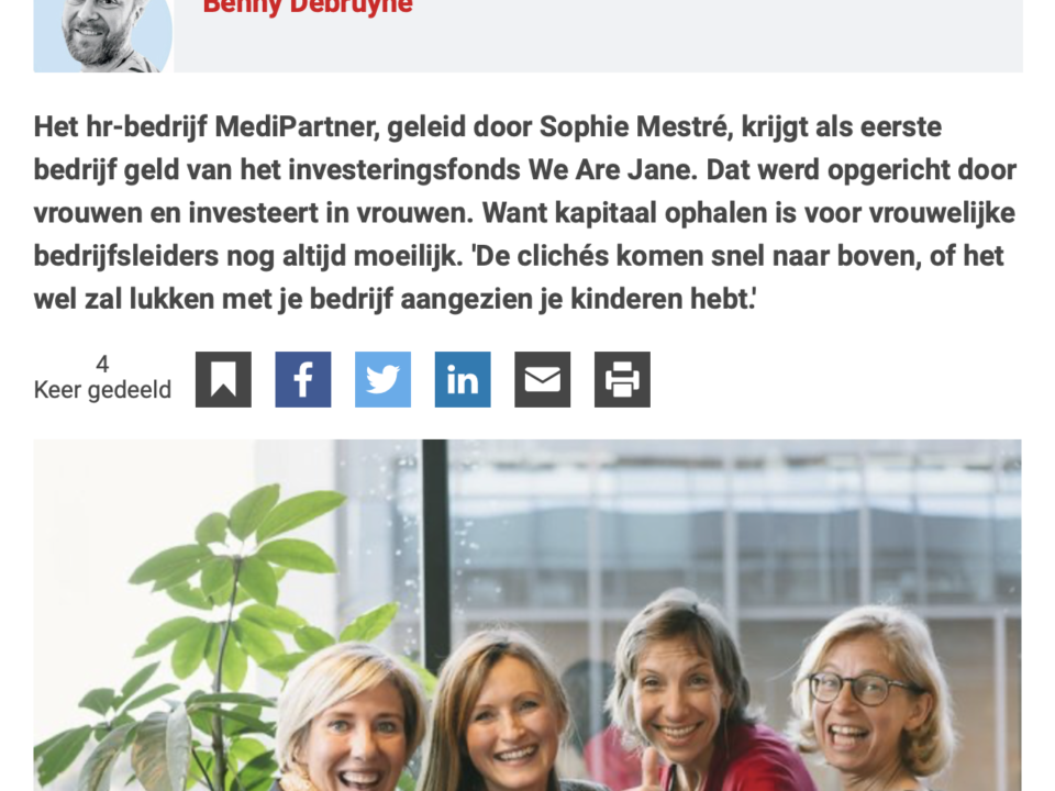 ImpactBuilders samen met We Are Jane in Trends